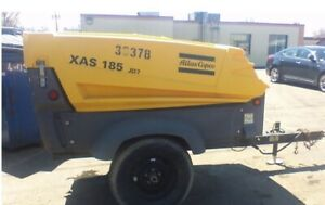 2013 Atlas Copco Xas 185 Jd7 Air Compressor