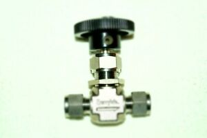 Swagelok Integral Bonnet Needle Valve 3 8 In Regulating Stem ss 1rs6