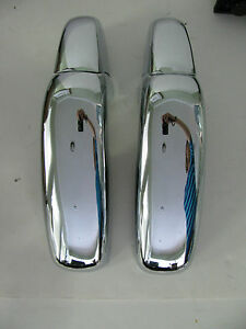 Porsche 356 B C Front Chrome Bumper Guard Set The Best