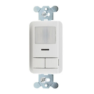 Sensor Switch Wsx pdt 2p wh Dual tech Occupancy Sensor Switch 2 pole White