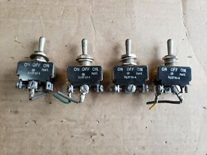 Lot Of 4 Micro Switches 512ts1 1