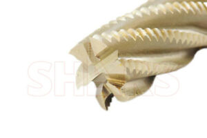 Shars 1 X 1 M2al 6 Flute Center Cutting Roughing End Mill New P