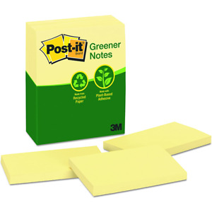 Post it Notes 655 rp 3 In X 5 In Canary Yellow