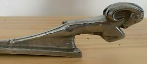 1939 Dodge Ram Pickup Truck Panel Stake Chrome Hood Ornament Rare Find See Pics