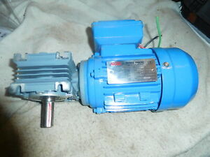 Ngb Ms5624 Right Angle Gear Motor 220 380 Volt 3 Phase 0 12 Hp 09kw