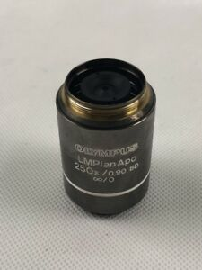 1pc Olympus Lmplanapo Bd 250x 0 90 Light And Dark Field Objective Tested