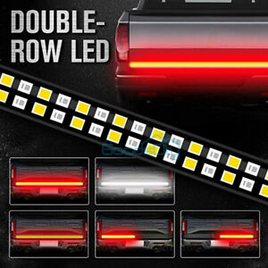 2 Row 60 Led Strip Tailgate Brake Turn Signal Light Bar For Ford F150 Us Stock