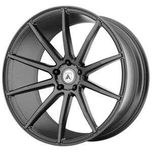 20 Asanti Black Aries Grey abl20 20101240mg Set Of 4 Wheels Rims