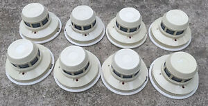Lot Of 8 System Sensor 2400 Smoke Detectors Working When Removed