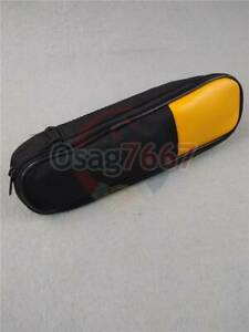 Double Zipper Carry Soft Case bag Use For Clamp Meter Fluke T5 1000 T5 600 New