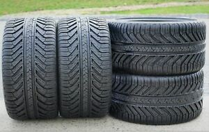 4 New Michelin Pilot Sport A s Plus 295 25r20 95y Xl As Performance Tires 2012