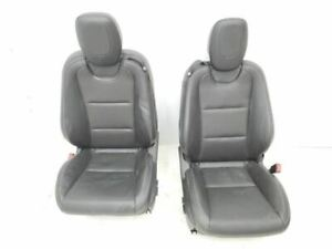 2012 2015 Chevrolet Camaro Front Seats Black Leather Nice Oem Electric Complete
