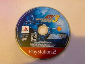 ATV Offroad Fury 3 (Sony PlayStation 2  2004) PS2 - DISC ONLY