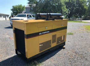 Olympian 30kw 1994 Natural Gas Propane 5 7 Liter Engine 324 Hours