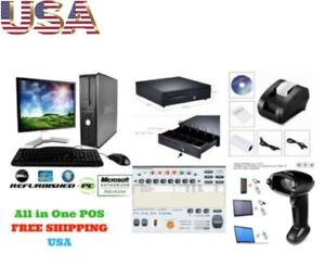 Low Price Full Pos All in one Point Of Sale System Combo Kit Retail Store Best