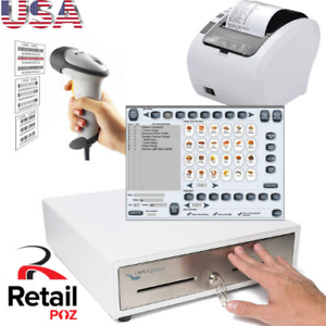 Bundle For Coffee Shop Pos Point Of Sale System Combo Retail Coffee Shop