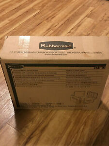 Rubbermaid 6181 00 6181 Locking Janitor Cart Cabinet For 6173 Carts