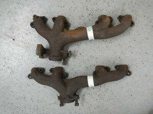 1961 364 401 Buick Nailhead Exhaust Manifold Pair Both Manifolds 61 Also Fit 425
