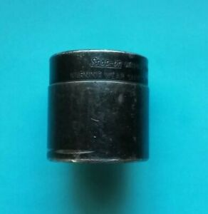 Snap On Used 1 2 Drive Tie Rod End Impact Socket Wa14a