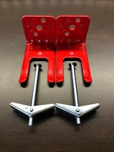 New 2 Lot Fork Style Wall Mount 5 Size Fire Extinguisher amerex Bracket