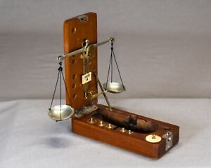 Antique Jeweler S Gold Scale H Kohlbusch New York Circa Late 19th Century