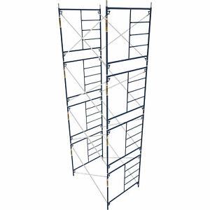 Metaltech Mmfs606084k4 Saferstack 5ft X 5ft X 7ft Mason Frame set Of 4