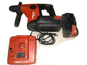 Hilti Te 7 a 36 Kit 36v Li ion Rotary Hammer Drill drs sds plus Lithium Volt 6