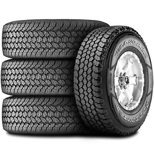 4 New Goodyear Wrangler All terrain Adventure With Kevlar 255 65r17 110t A t