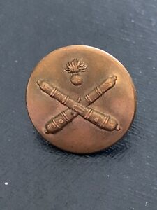 Antique Vintage Cricket Sport Firmin Sons London Brass Or Copper 5 8 Button
