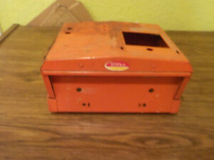 Vintage Mighty Tonka Wrecker Truck Cab Without Top Orange Color For Parts