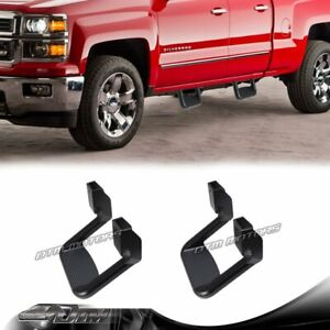 2 X Black Texture Coated Die cast Aluminum Suv Truck Pickup Nerf Side Step Bar