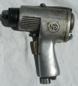 Vintage Antique Chicago Pneumatic Auto Wrench Air Impact Wrench Driver