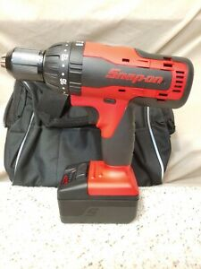 Snap On Cdr8850h 18volt 1 2 Monsterlithium Ion Hammerdrill 1 4 0ah Battery New