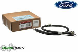 Oem New Ford 1995 1997 F250 F350 Right Side Negative Battery Cable F5tz 14301 a