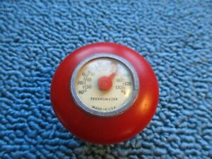 Vintage Car Gear Shift Knob Bakelite 1932 1934 1940 Ford Flathead Thermometer