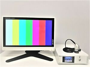 Stryker 1488 Hd Camera System With 26 Led Vision Pro Monitor