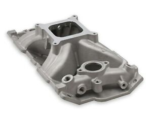 Holley Sbc Small Block Chevy Aluminum Intake Mid Rise Single Plane 350 383