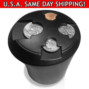 T1a Cup Holder Change Organizer Coin Sorting Cupholder For Cars Trucks