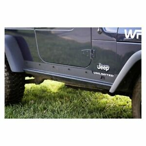 Rugged Ridge Heavy Duty Side Rocker Guards 04 06 Wrangler Lj11504 16