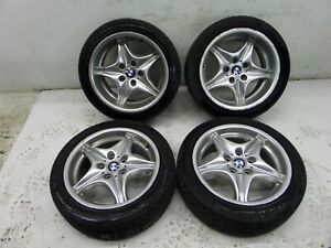 Bmw Z3 17 M Style 40 Staggered Wheels E36 7 Roadster Coupe Oem