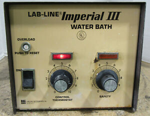 Lab Line Imperial Iii Laboratory Water Bath 18050 120v 300w Tested And Working