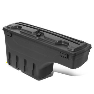 Left Wheel Well Storage Case Tool Box W Lock Key For 2015 2020 Ford F 150 Pickup
