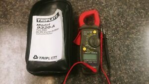Triplett 9320 a True Rms Ac dc Clamp on Meter Electrical Tool