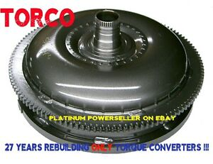 High Stall 500 Over Stock Honda Torque Converter Accord 4 Cyl Civic Acura