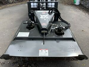 2017 Bobcat 72 Brushcat Rotary Mower Cutter For Skid Steer Loader High Flow