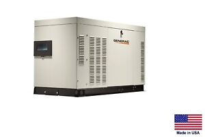 Standby Generator Commercial residential 38 Kw 120 240v 1 Phase Ng Lp