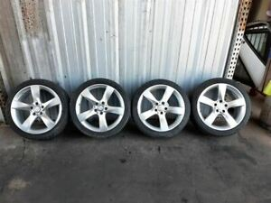 Mercedes C250 C300 C350 Set Of Wheels Rims Alloys 18 Staggered Sport With Tires