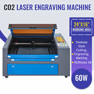 Co2 Laser Engraver Cutter 60w 24 16 Engraving Marking Cutting Machine 2020 New