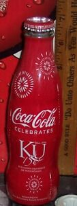 2016 KUTZTOWN UNIVERSITY 150 YEARS   8 OUNCE GLASS WRAPPED COCA COLA BOTTLE
