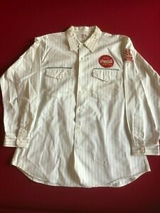 1950-60's, Coca-Cola, Employee Uniform Shirt  (Scarce / Vintage)